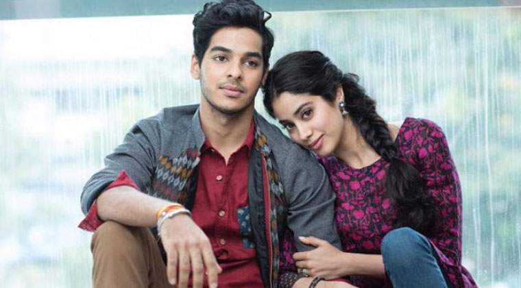 Dhadak first day collections