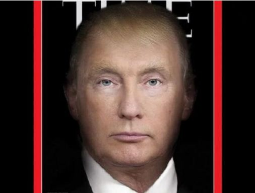donald trump vladmir putin time magazine