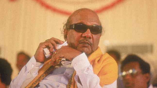 karunanidhi dead