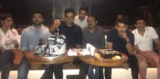 ram charan ntr mahesh babu at vamsi paidipally birthday celebrations