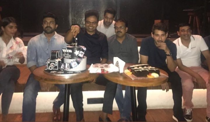 ram charan ntr mahesh babu at vamsi paidipally birthday celebrations