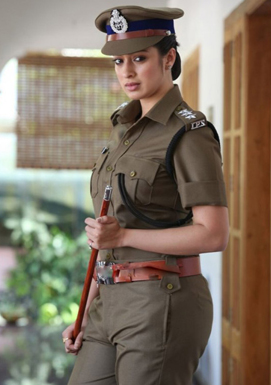 raai laxmi as police officer in jhansi