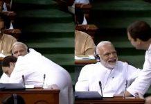 Celebs troll Rahul Gandhi's hug to Modi