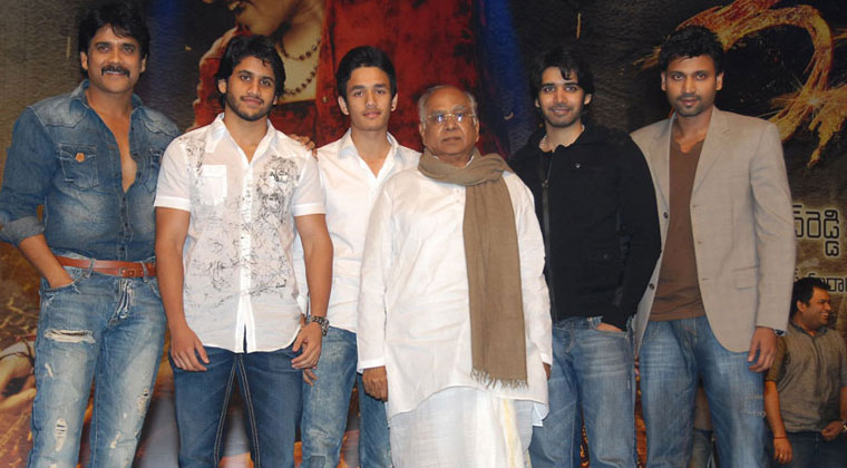 AKKINENI FAMILY IN SEPTEMBER