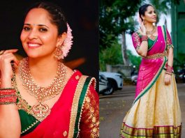 Actress-Anasuya-Traditional-Saree-Photos