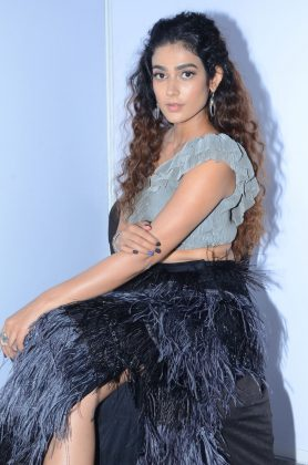 Aakanksha Singh at Devadas Audio Launch