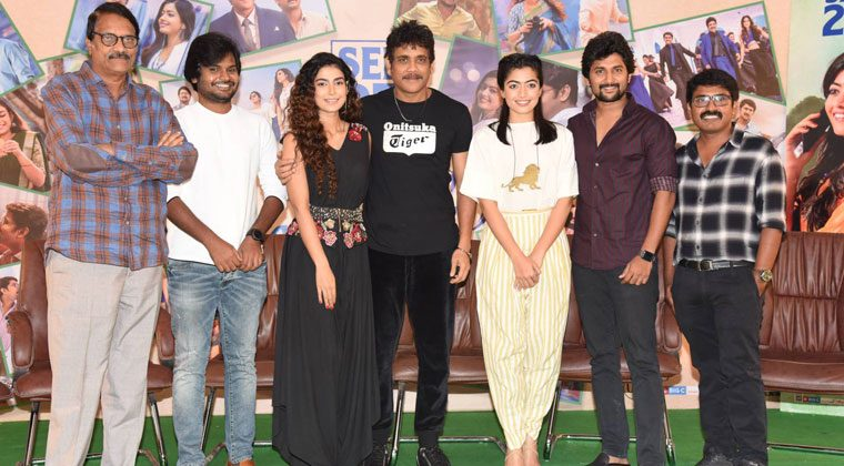 Devadas Movie Press Meet Photos