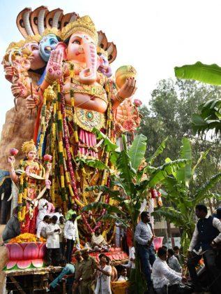 Hyderabad Khairatabad Ganesh Nimajjanam 2018 Photos