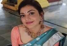 Kajal Aggarwal Traditional saree Pics