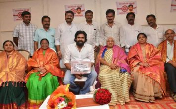 Pawankalyan Meets his Childhood Teachers at Nellore Photos
