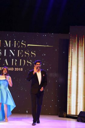 Rana at Times Business Awards 2018