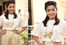 Rashmika Mandanna at Devadas Movie Press Meet