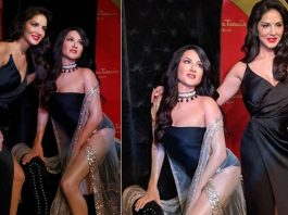 Sunny Leone wax statue at Madame Tussauds in Delhi