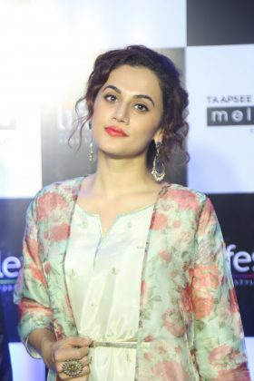 Taapsee Pannu as Brand Ambassador of Melange by Lifestyle (9)