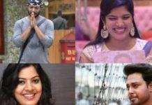 Top 3 contestants biggboss