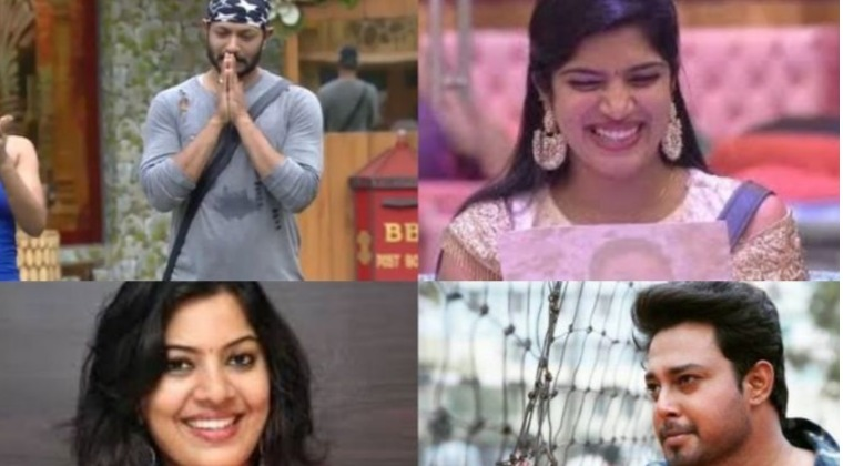 Top 3 contestants biggboss