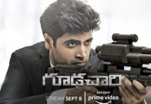 goodachari to air on Amazon prime