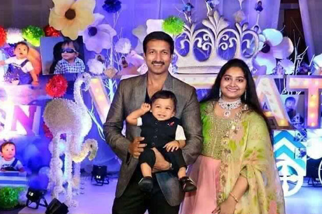 gopichand blessed with baby boy