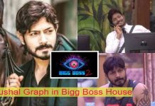 kaushal graph in biggboss
