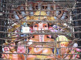 Hyderabad Khairatabad Ganesh 2018 Making Stills