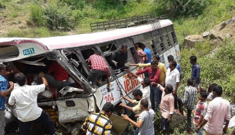 kondagattu-bus-accident telangana