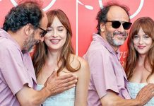 michael de luca dakota johnson venice film festival fifty shades of grey