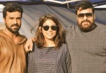 Ram charan on rc 12 sets