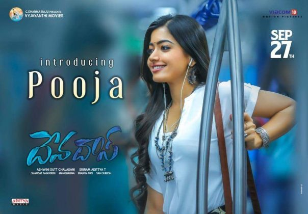 rashmika from Devadas