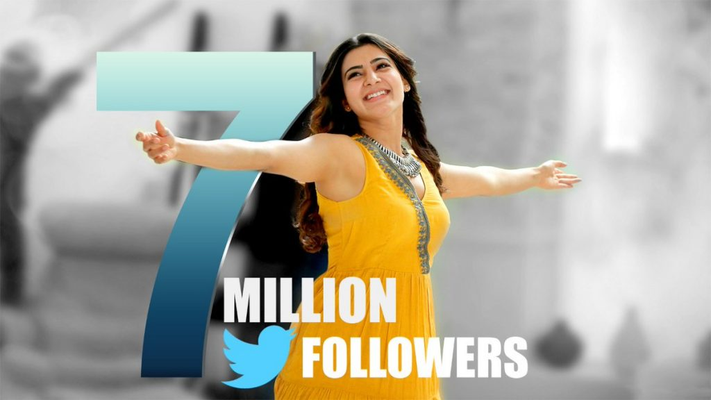 samantha seven million followers on twitter