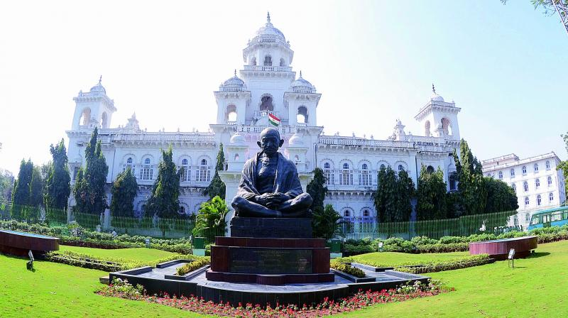 telangana assembly dissolution