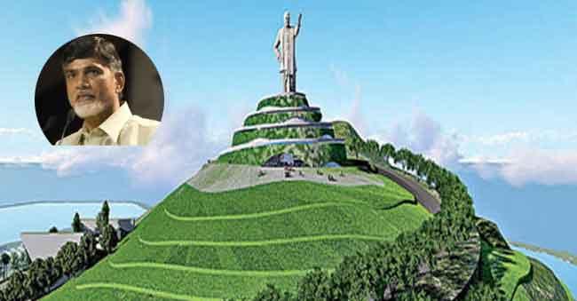 108-Feet-NTR-Statue-On-Neer