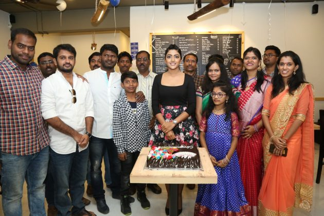 Actress Eesha Rebba Grand Launch Cafe Chef Bakers at Q City Gachibowli