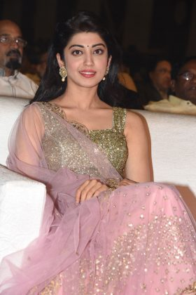 Actress Pranitha Subhash at NTR Biopic Pre Release Event Photos