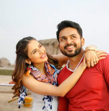 Actress RakulPreet Dev Movie Working Stills
