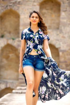 Actress RakulPreet Dev Movie Working Stills