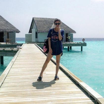 Actress Sneha Ullal Maldives Trip Pics