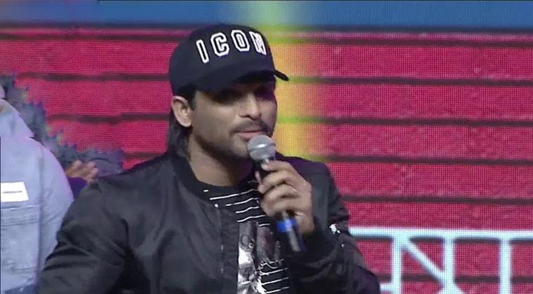 Allu Arjun Superb Speech at Padi Padi Leche Manasu Event