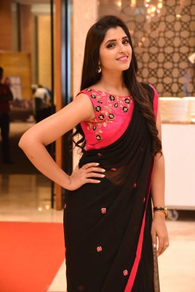 Bigg Boss Beauty Sexy Saree Stills