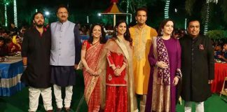 Celebs Attend Pre Wedding Celebrations of Isha Ambani and Anand Piramal