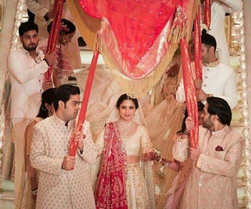 Celebs at Isha Ambani Wedding Photos