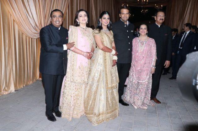 Celebs at Isha Ambani Wedding Reception Photos