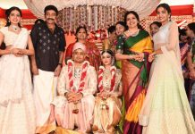 Dr.Rajasekhar Nephew Karthik's Wedding Photos
