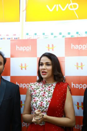 Happi Mobiles Grand Store Launched by Actress Lavanya Tripathi