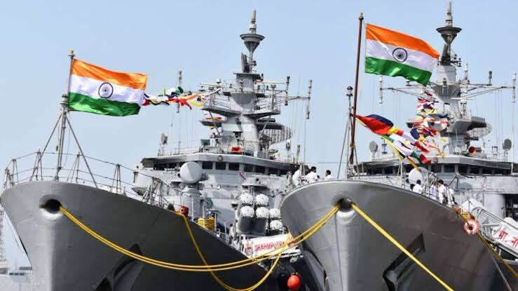 Indian Navy Day 2018 Celebration Photos