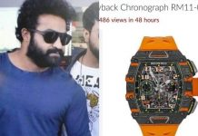 Jr-NTR-2-Crore-Watch At Rajamouli Son Wedding