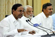 KCR abusive language at Chandrababu in press meet