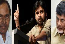 KCR and pawan kalyan return gift to Naidu