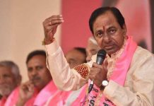 KCR press meet Telangana elections win