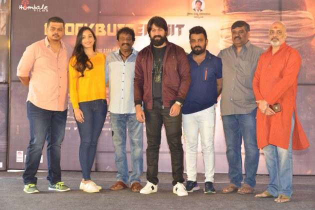 KGF Movie Success Meet Photos