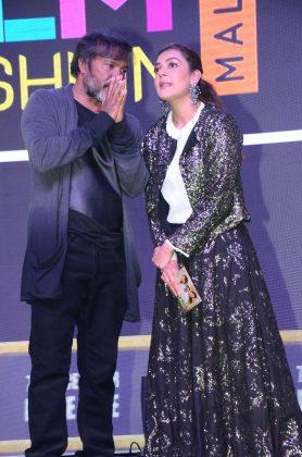 Kajal Aggarwal At Kavacham Audio Launch Photos